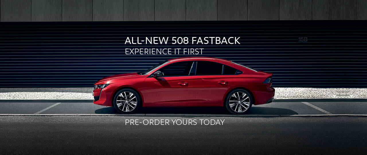 All-New Peugeot 508 Fastback - Experience it first